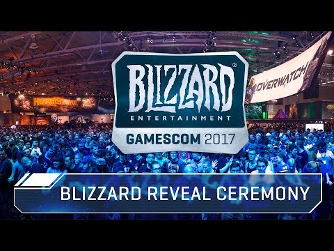 Blizzard Reveal Ceremony at gamescom 2017