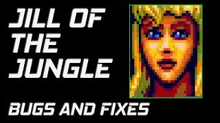 Jill of the Jungle (MS-DOS) Bugs and Fixes