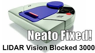 Repeat youtube video Neato LIDAR Motor Replacement - My vision was blocked error 3000