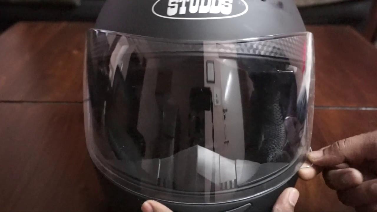 Studds Shifter Helmet Review Youtube: Best Budget Helmet In India