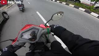 Download Balikpapan Sepi | PENCEGAHAN PENYEBARAN VIRUS CORONA | MOTOVLOG INDONESIA  | SUZUKI AXELO 125