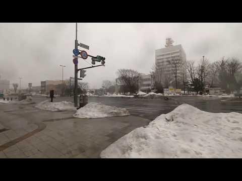 【Live】Heavy snowing in Tomakomai city, Hokkaido