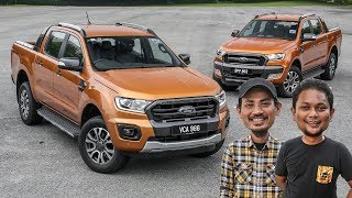 PERBANDINGAN: Ford Ranger 2.0L Wildtrak 4x4 2019 vs Wildtrak 3.2L 2015