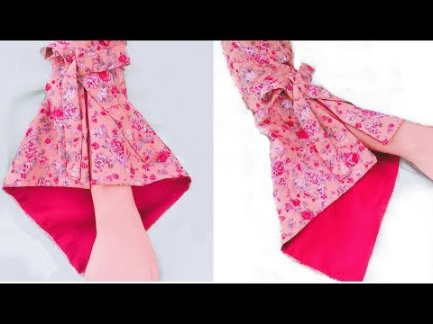 Umbrella sleeves cutting and stitching in Hindi