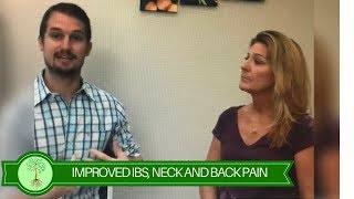 IBS, Neck, and Back Pain all improved in just months!