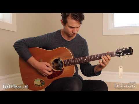 1951 Gibson J50  Folkway Music