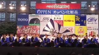 秋田大学よさこいサークルよさとせ歌舞輝さん、みちのくYOSAKOI1日目市...