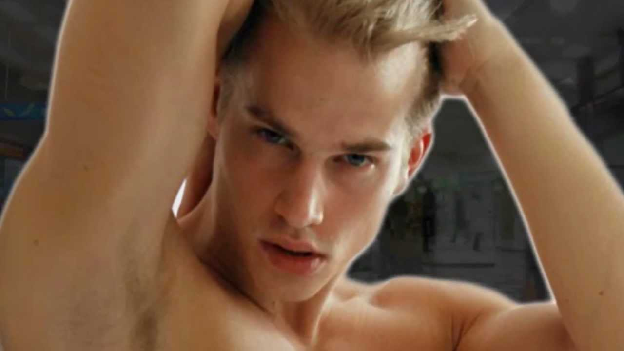 German male model aaron bruckner