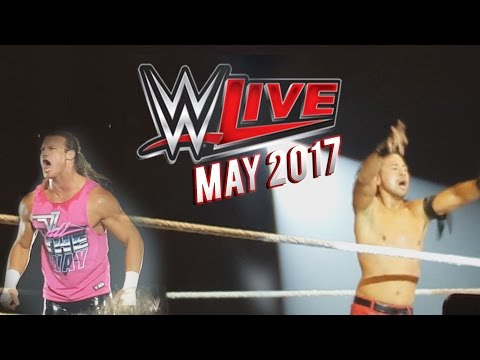 WWE Live | Newcastle | May 2017 | VLOG ft. Robson Balmbra