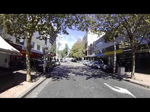 Everyday Life in Chatswood, NSW Australia, Cycling in Willoughby