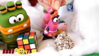 Куми Куми  Мультик из игрушек   Свинка Пеппа Джордж и Куми Куми пришел Дед Мороз Peppa Pig
