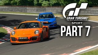 GRAN TURISMO SPORT Gameplay Walkthrough Part 7 - MISSION CHALLENGE STAGE 2 ALL GOLD (Full Game)