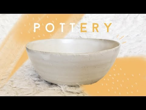 Trying Pottery For The First Time | Gotcathy