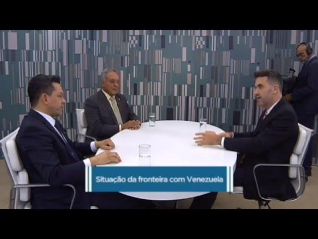 Deputados de Roraima comentam a crise na fronteira do Brasil com a Venezuela