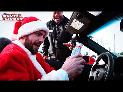 santa buys a corvette at marty feldman chevrolet youtube. Cars Review. Best American Auto & Cars Review