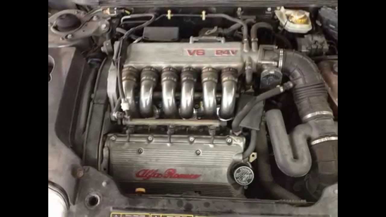 Alfa Romeo Spider 32 V6 Timing Belt Replacement Youtube Engine Diagram