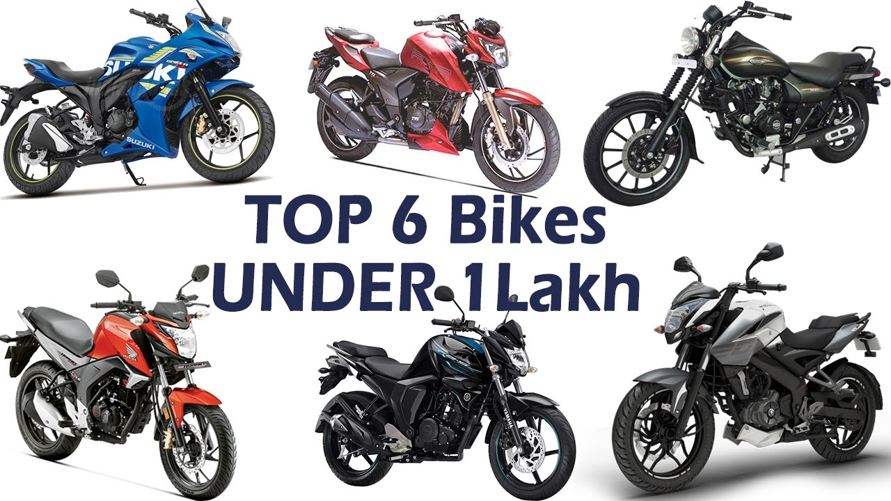 Top 6 Bikes Under 1 Lakh Price Specifications Mileage