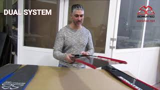 Carbon fins for spearfishing Dual System. SORIATEC #carbon_fins for #Freediving  (Subtitles)