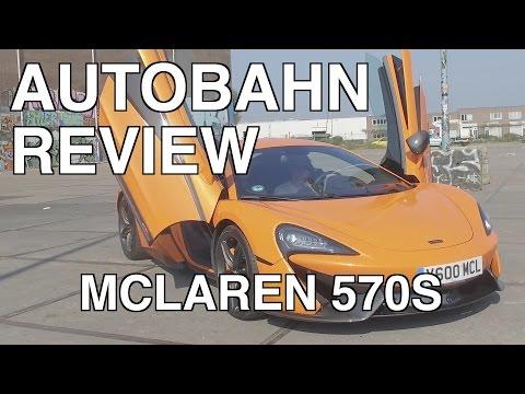 Giedo van der Garde test McLaren 570s voor Autobahn