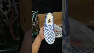 Vans Checkerboard Slip-On ULTRAMARINE