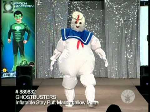 Stay Puft Marshmallow Man Costume Adults & Stay Puft Marshmallow Man Costume Adults - YouTube