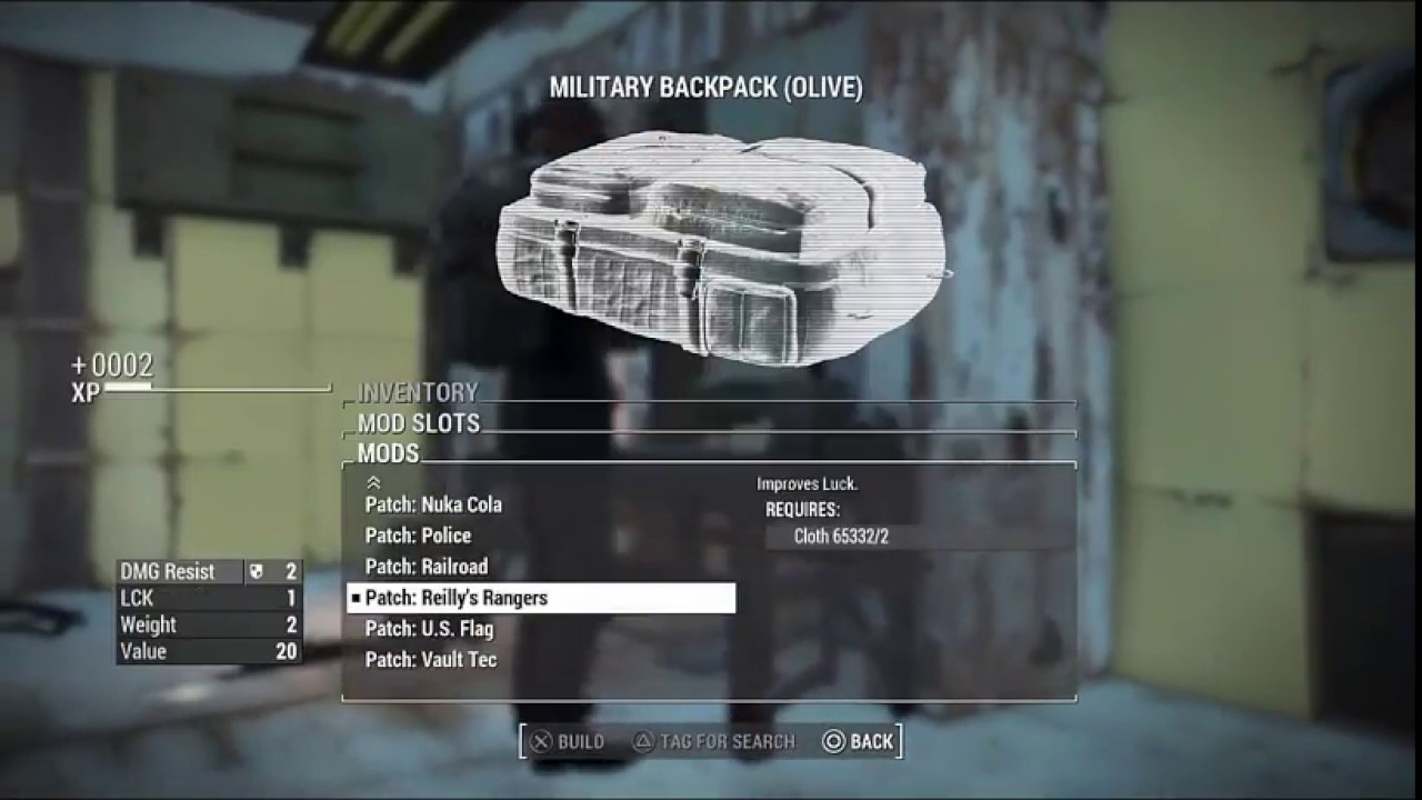 4415372f6add Fallout 4 Creation Club Mod Review - modular military backpack - YouTube