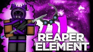 NEW REAPER ELEMENT   ELEMENTAL BATTLEGROUNDS IN ROBLOX   iBeMaine