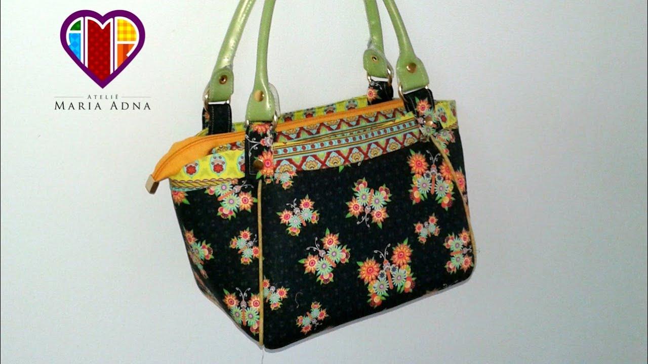 bolsa de tecido brenda tuto sac en tissu comment faire un sac en tissu tuto diy couture youtube. Black Bedroom Furniture Sets. Home Design Ideas
