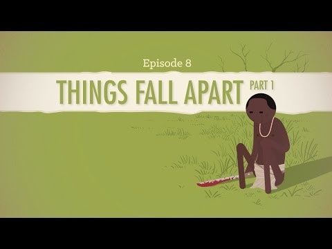 the fall of umuofia in chinua achebes things fall apart Things fall apart (1958) is set in the 1890s during a time when european imperialism sought to include africa as part of their colonial empires read our analysis.