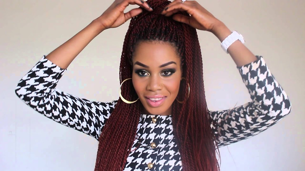 3 Ways to Style Senegalese Twists - YouTube