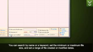 Recover Files - Recover files from hard or USB drives - Download Video Previews