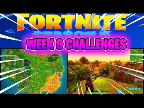 Fortnite Season 5: WEEK 9 CHALLENGES *HIDDEN BANNER*