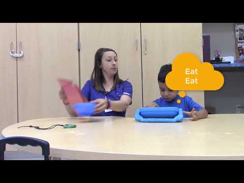 """Our AAC """"talkers"""" in action  