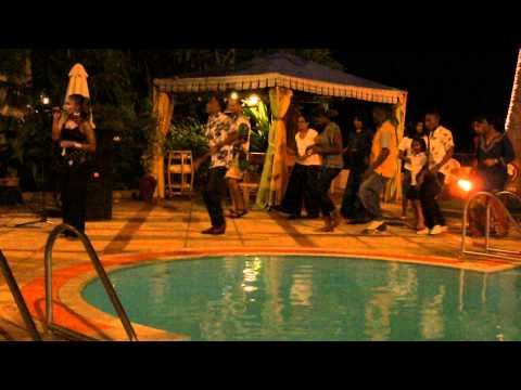 an evening in Zanzibar, Tanzania - live music by a local band called Coconut Band (part 3)