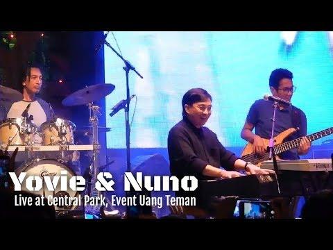 Yovie & Nuno - Menjaga Hati | Live at Central Park