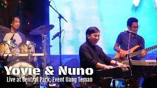 YovieNuno Menjaga Hati Live at Central Park