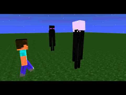 enderman meets slendermanminecraft animation youtube