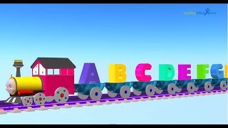 abc songs for children | train 3d songs | abc alphabet songs for children | children nursery rhymes