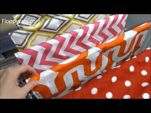 How the Peach Pet Provision Cat Lounger Fabrics Hold Up to Washing - Floppycats