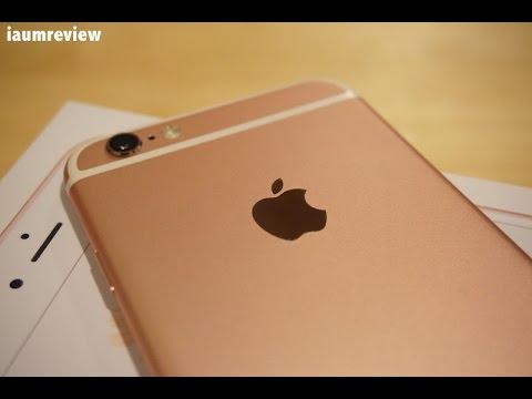 [HD] รีวิว iPhone 6s แบบไทยไทย : EP0 : แกะกล่องน้อง Rose Gold