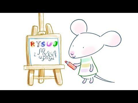 Rysuj z Myszką w Paski | nowe odcinki | zwiastun MiniMini+