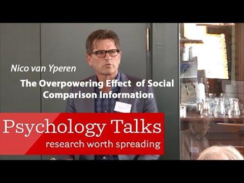 The Overpowering Effect Of Social Comparison Information-2014 Heymans Talk-prof.dr. N. van Yperen