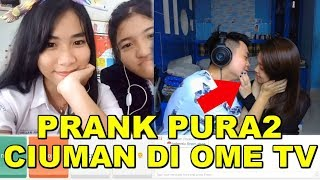 Video PRANK PURA2 CIUMAN BIBIR DI OME TV! NGAKAK BANGET!!! download MP3, 3GP, MP4, WEBM, AVI, FLV Oktober 2018