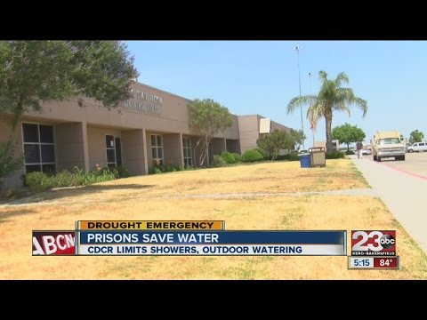 Wasco Prison saves water
