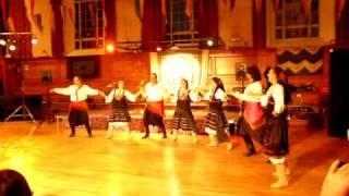 Plataniotiko Nero, Samos - Dance Around The World, London, Greek folklore group Philhellenes