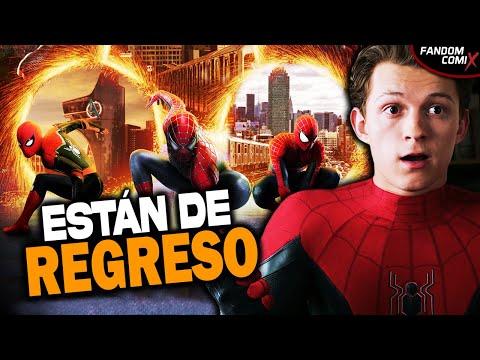 Spiderman 3 tendría a Tobey Maguire y Andrew Garfield | Inicia el Spiderverse