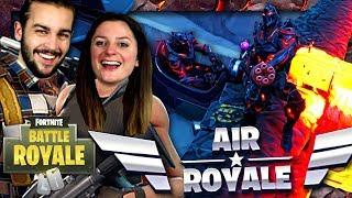 TRIPLE TOP 1 AVEC L'AVION EN MODE AIR ROYALE ! | FORTNITE DUO FR