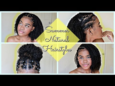 ☀️Summer Hairstyles for Natural Curly Hair 2018 (Part 1)☀️