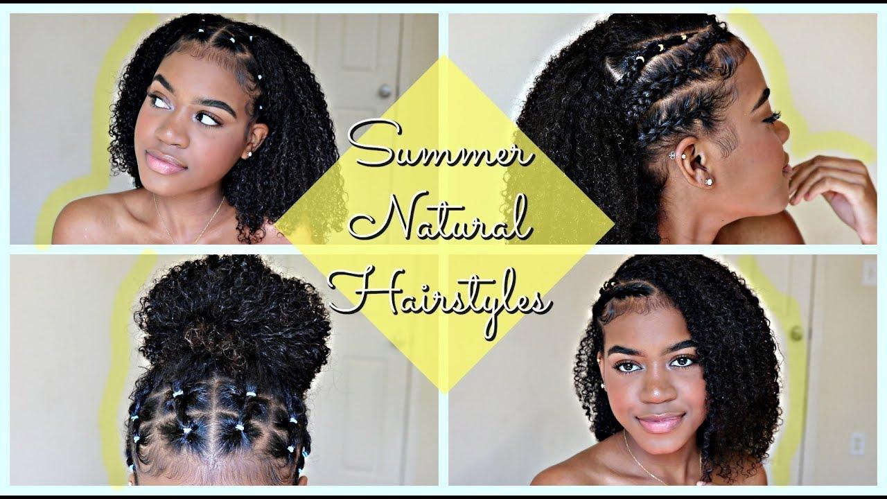 summer hairstyles natural