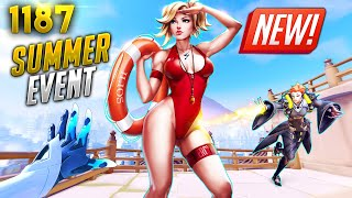 *NEW* Summer EVENT IS COMING! | Overwatch Daily Moments Ep.1187 (Funny and Random Moments)
